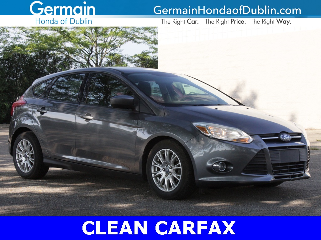 Pre Owned 2012 Ford Focus Se Fwd 4d Hatchback