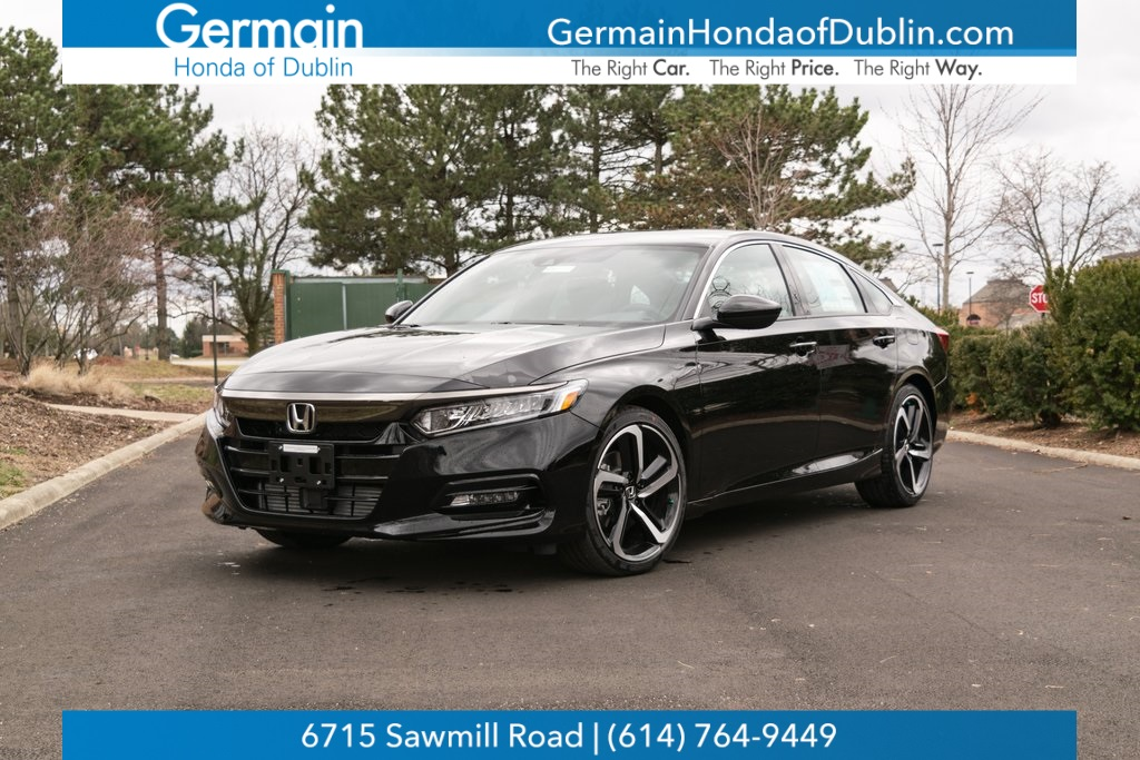 Germain Honda Service >> New 2019 Honda Accord Sport 2.0T 4D Sedan for Sale #H190912 | Germain Honda of Dublin