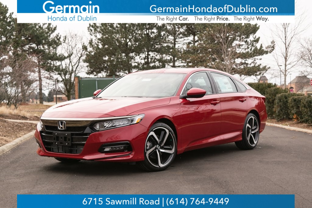 New Honda Accord >> New 2019 Honda Accord Sport 2 0t Fwd 4d Sedan