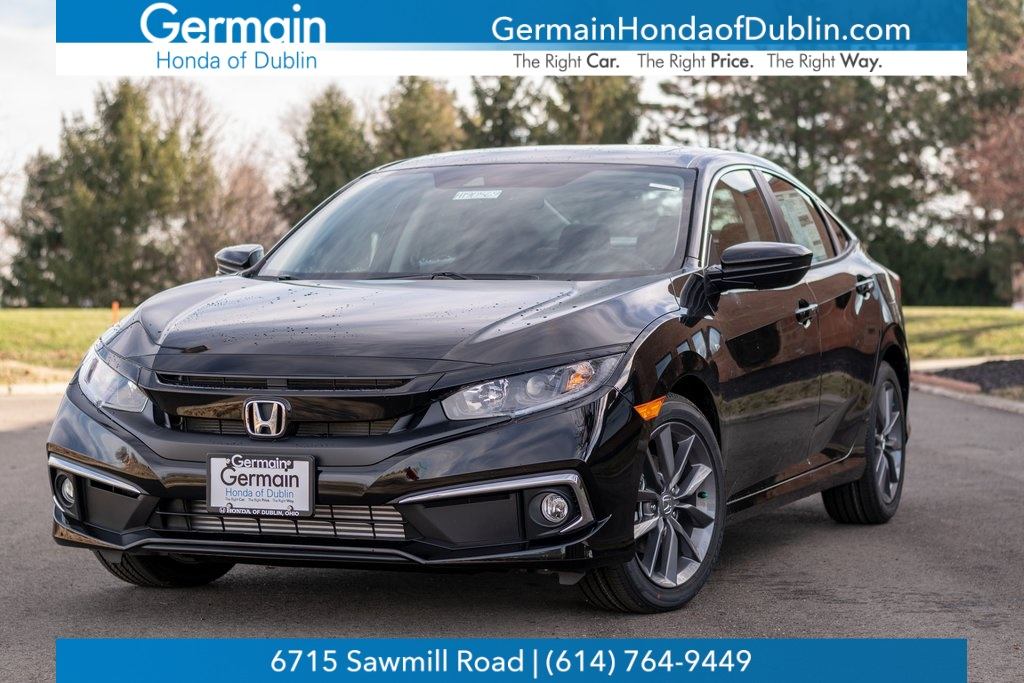 Honda Civic New >> New 2020 Honda Civic Ex Fwd 4d Sedan