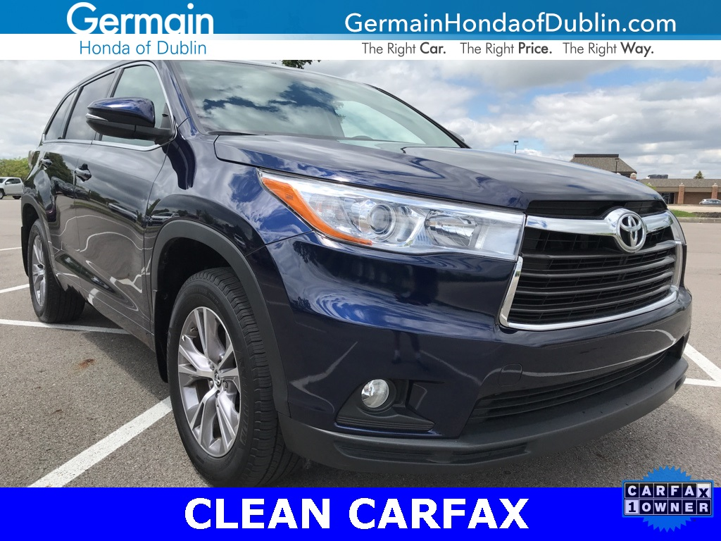 Pre Owned 2016 Toyota Highlander Le Plus V6